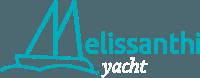 melissanthi yacht white logo